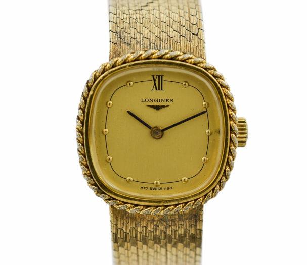 Vintage Longines 817 Swiss 1198 Manual Wind Ladies Watch