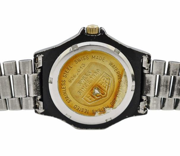 Vintage Heuer 3000 Series 936.013 Quartz PVD Midsize Watch