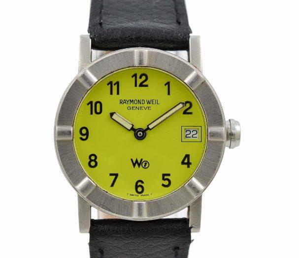Raymond Weil Parsifal W1 3000 Quartz Steel Ladies Watch vintage