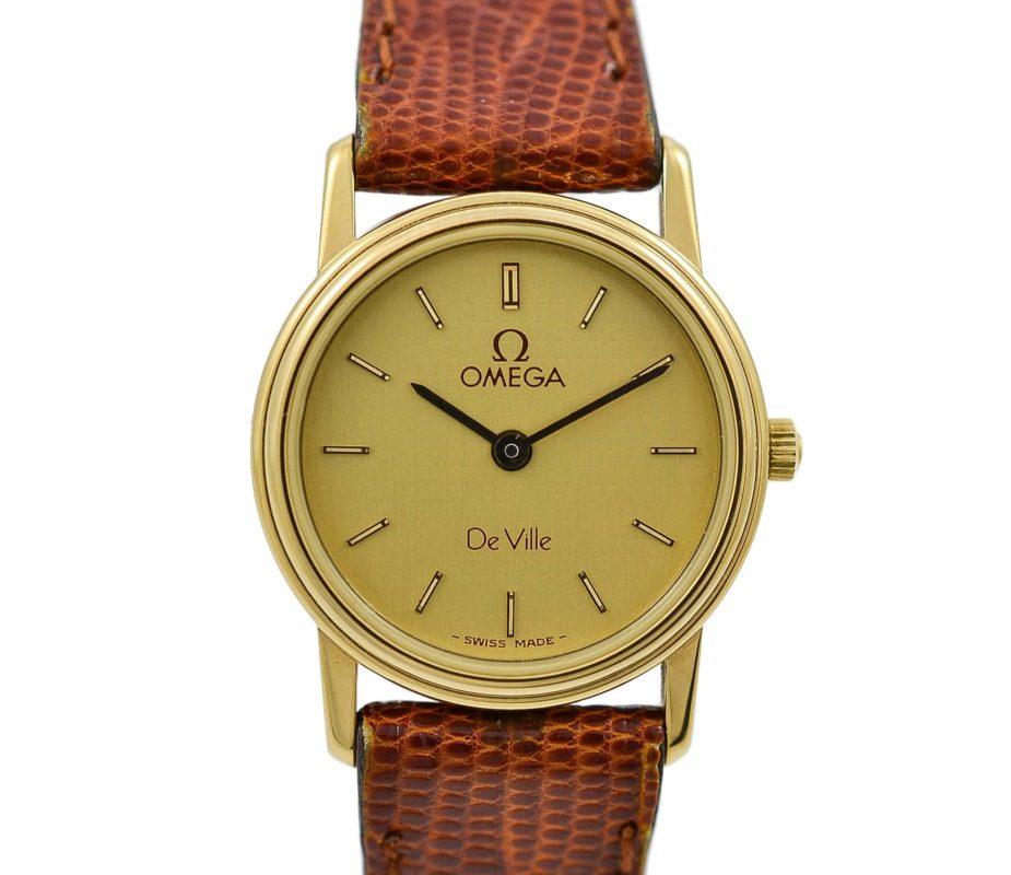 Omega 1980s De Ville Cal.1375