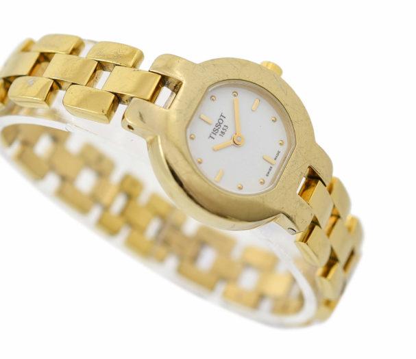 Vintage Tissot Model G330 Gold Plated Quartz Ladies Watch