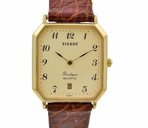 Vintage Tissot Boutique Quartz Gold Plated Midsize Watch