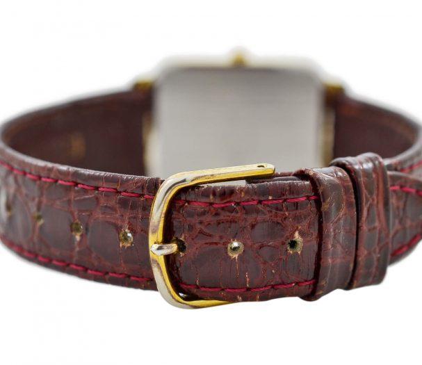 Vintage Bulova RRG Quartz Gold Plated Midsize Watch