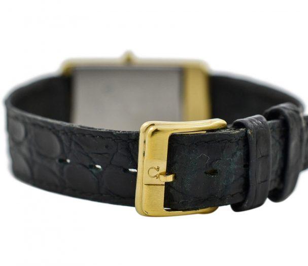 Vintage Omega De Ville Cal.1455 Quartz Gold Plated Midsize Watch