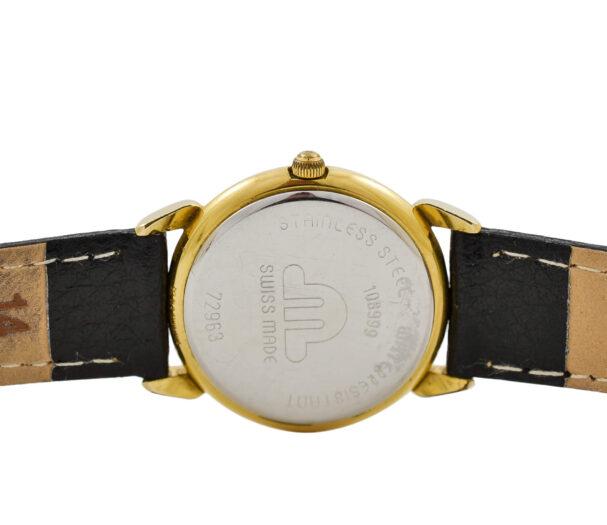 Vintage Maurice Lacroix 72963 Gold Plated Quartz Ladies Watch 1884