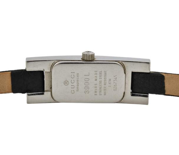 Vintage Gucci 3900L Stainless Steel Quartz Petite Ladies Watch