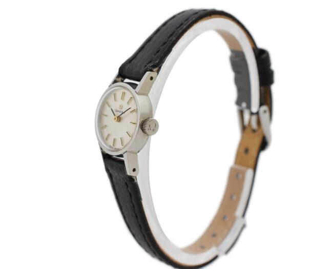 Vintage Omega Geneve Cal.630 Manual Wind Stainless Steel Ladies Petite Watch