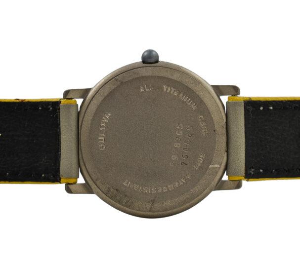 Vintage Bulova Titanium 8978905 Quartz Ladies Watch