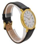 Vintage Bulova Classic Quartz Roman Dial Gold Plated Midsize Watch