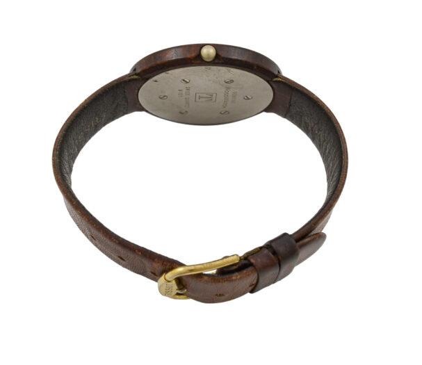 Vintage Tissot Wood Watch W151 Midsize Quartz Watch