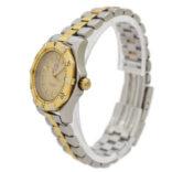Vintage Tag Heuer 2000 Series WK1321 Bi-Metal Quartz Ladies Watch 1932