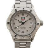 Vintage Tag Heuer 2000 Series WE1411-R Quartz Ladies Stainless Steel Watch