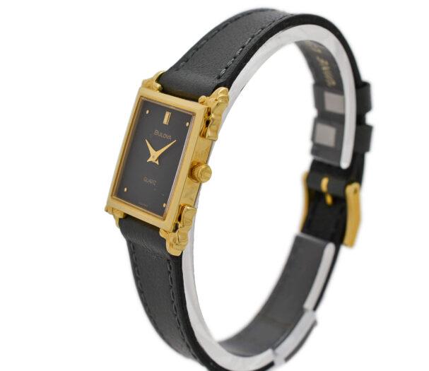 As New Vintage Bulova Quartz 7-360839 Gold Plated Ladies Watch 1918
