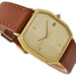 Vintage Tissot Seastar Quartz Gold Plated Midsize Watch 1935