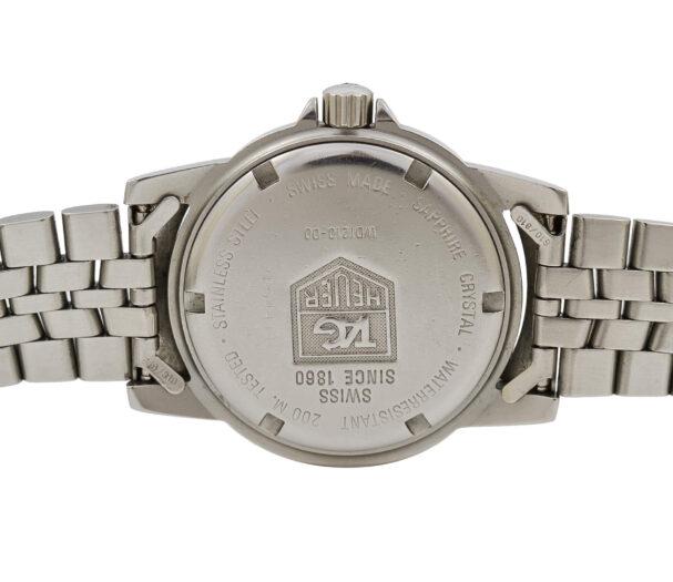 Vintage Tag Heuer 1500 Series WD1210-00 Quartz Stainless Steel Gents Watch 1939