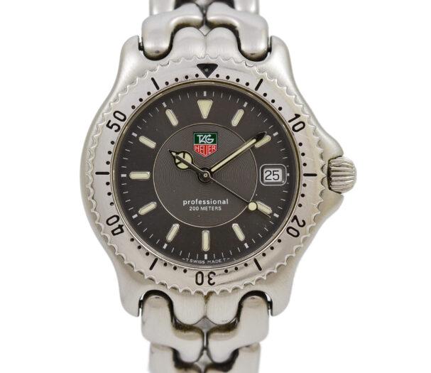 Vintage Tag Heuer S/el Series WG1213-KO Quartz Midsize Stainless Steel Watch 1941