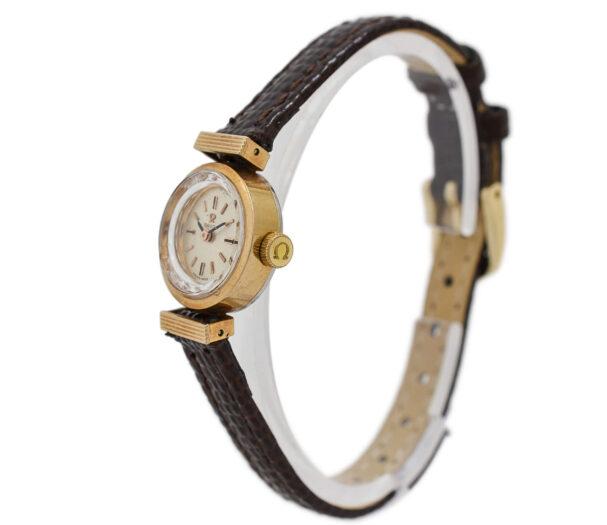 Vintage Omega De Ville Cal.483 Manual Wind Gold Plated Ladies Watch 1947