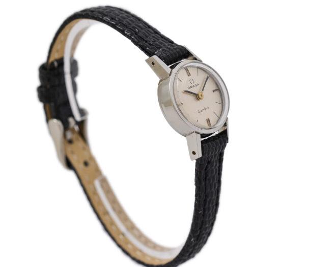Vintage Omega Geneve Cal.485 Manual Wind Stainless Steel Ladies Watch