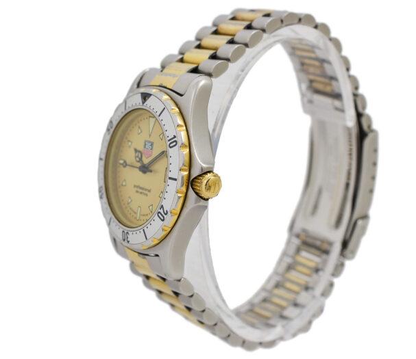Vintage Tag Heuer 2000 Series 974.013R Quartz Bi-Metal Gents Watch 1952