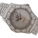 Vintage Tag Heuer 2000 Series WE1111-R Quartz Gents Stainless Steel Watch 1954