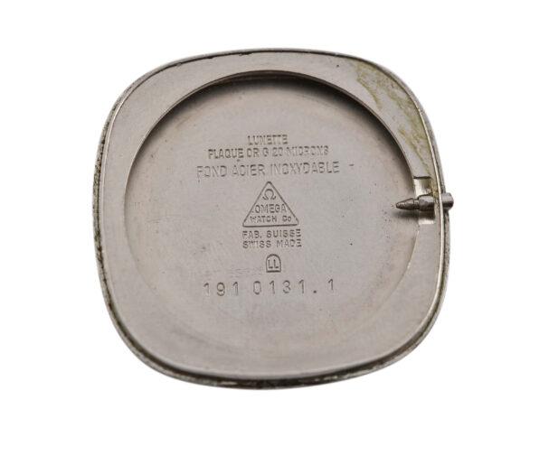 Vintage Omega De Ville Cal.1365 Quartz Gold Plated Midsize Watch 1976