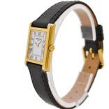 Vintage Raymond Weil Geneve 5766/2 Gold Plated Ladies Quartz Tank Watch