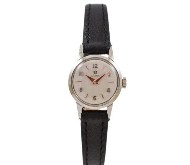 Vintage Omega Geneve Cal.244 Manual Wind Stainless Steel Ladies Watch 1975