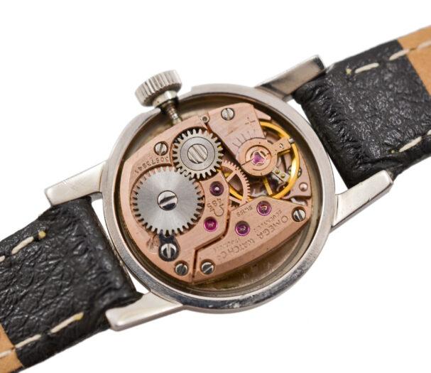 Vintage Omega Geneve Cal.485 Manual Wind Stainless Steel Ladies Petite Watch