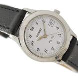 Vintage Tissot PR 50 J132/232K Stainless Steel Quartz Ladies Watch 1986