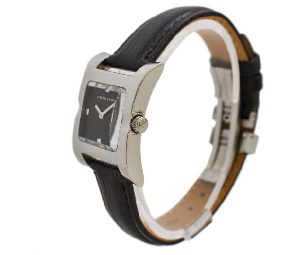 Vintage Hamilton 000150 Stainless Steel Quartz Ladies Watch 2002