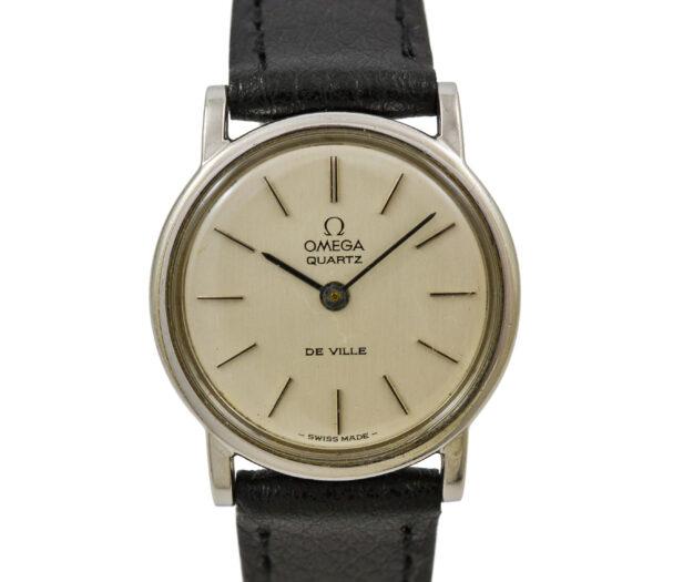Vintage Omega De Ville Cal.1350 Quartz Stainless Steel Ladies Watch 2005