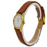 Vintage Longines Presence 9K 375 Gold Quartz Ladies Watch 2027