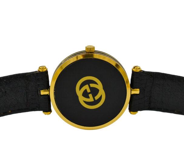 Vintage Gucci 2000M Quartz Gold Plated Midsize Watch 2032