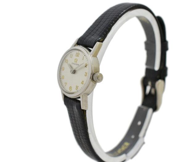 Vintage Omega Geneve Cal.244 Manual Wind Stainless Steel Ladies Watch 2036