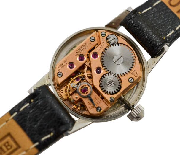 Vintage Omega Geneve Cal.244 Manual Wind Stainless Steel Ladies Petite Watch 2037