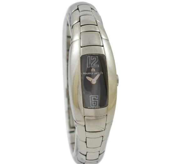 Vintage Maurice Lacroix Intuition 32859 Stainless Steel Quartz Ladies Watch