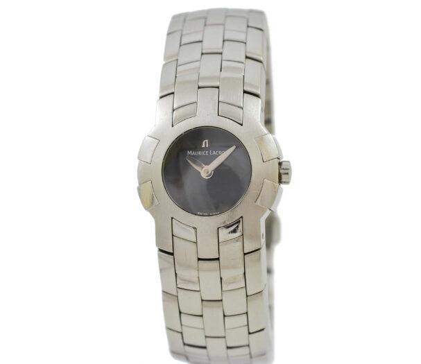 Vintage Maurice Lacroix Intuition 59858 Stainless Steel Quartz Ladies Watch 2048