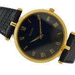 Vintage Gucci 2000M Quartz Gold Plated Gents Midsize Watch 2056