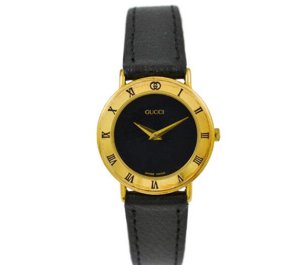Vintage Gucci 3000.2.L Gold Plated Quartz Ladies Watch 2058