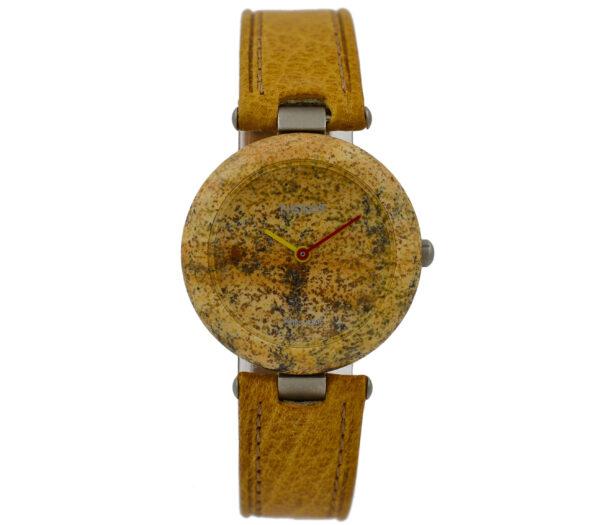 As New Vintage Tissot Rock Watch R150 Jasper Granite Ladies Quartz Watch 2059