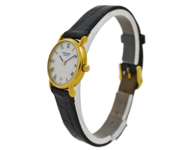 Vintage Raymond Weil Geneve 9923 Quartz Gold Plated Ladies Watch 2061