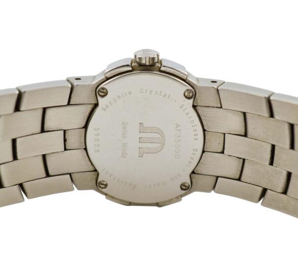 Vintage Maurice Lacroix Intuition AF35590 Stainless Steel Quartz Ladies Watch