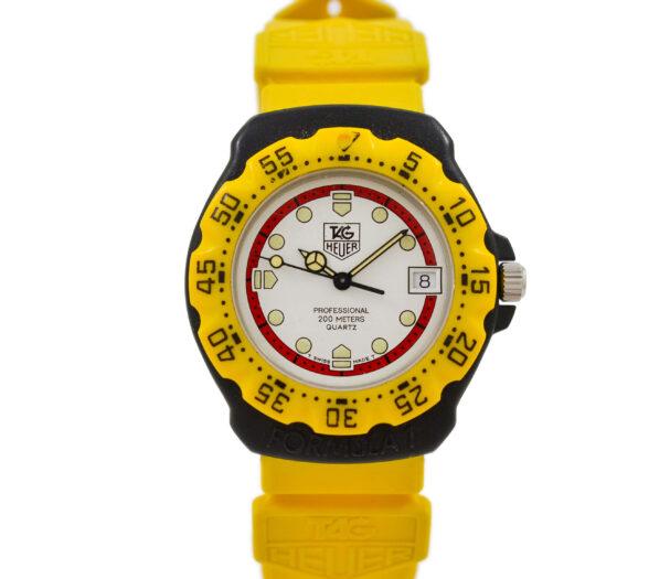 Vintage Tag Heuer F1 Series Quartz 380.513 Midsize Watch 2065