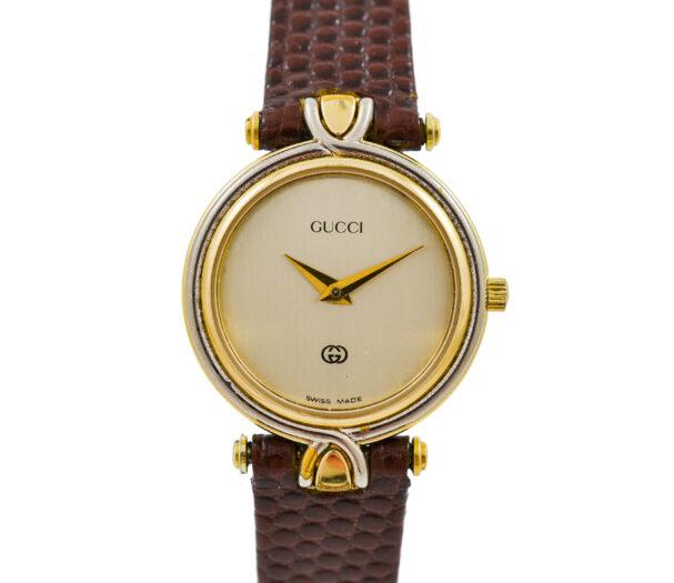 Vintage Gucci 4500L Gold Plated Quartz Ladies Watch 2066